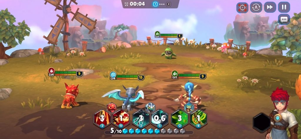 Skylanders Ring of Heroes Battle