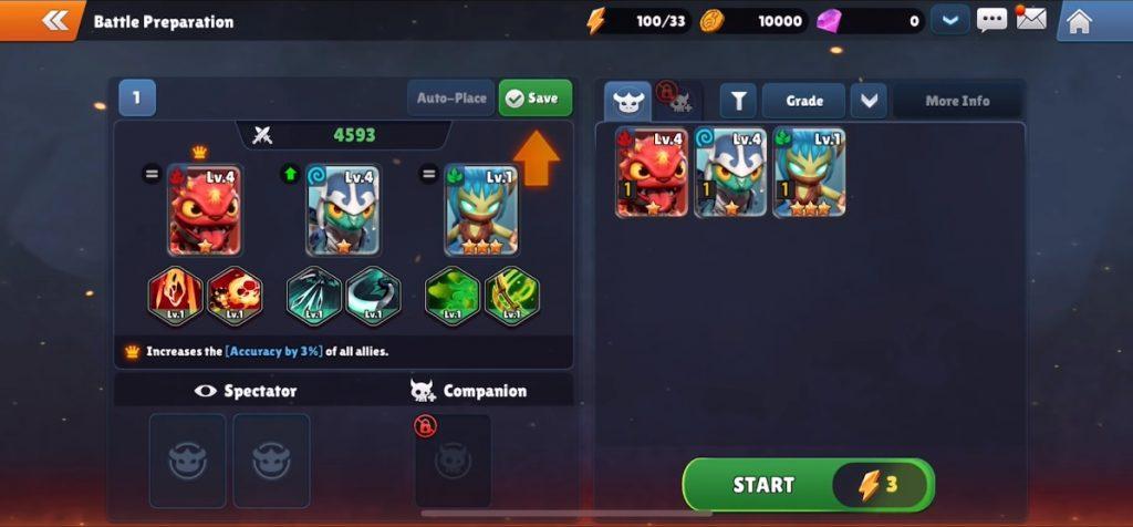 Skylanders Ring of Heroes Create Team