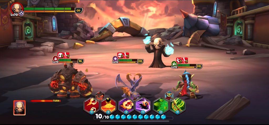 Skylanders Ring of Heroes Gameplay