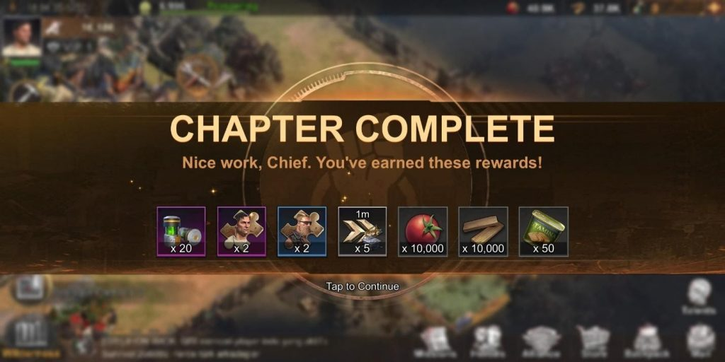 State of Survival Chapter Complete