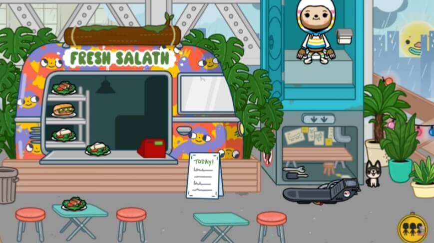 Toca Life World Fresh Salath