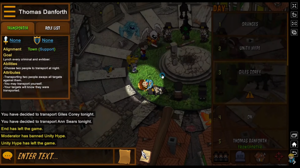 Town of Salem Gameplay
