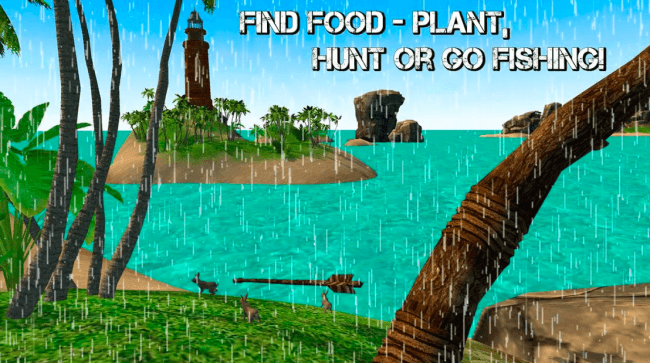 tropical island survival 3d game