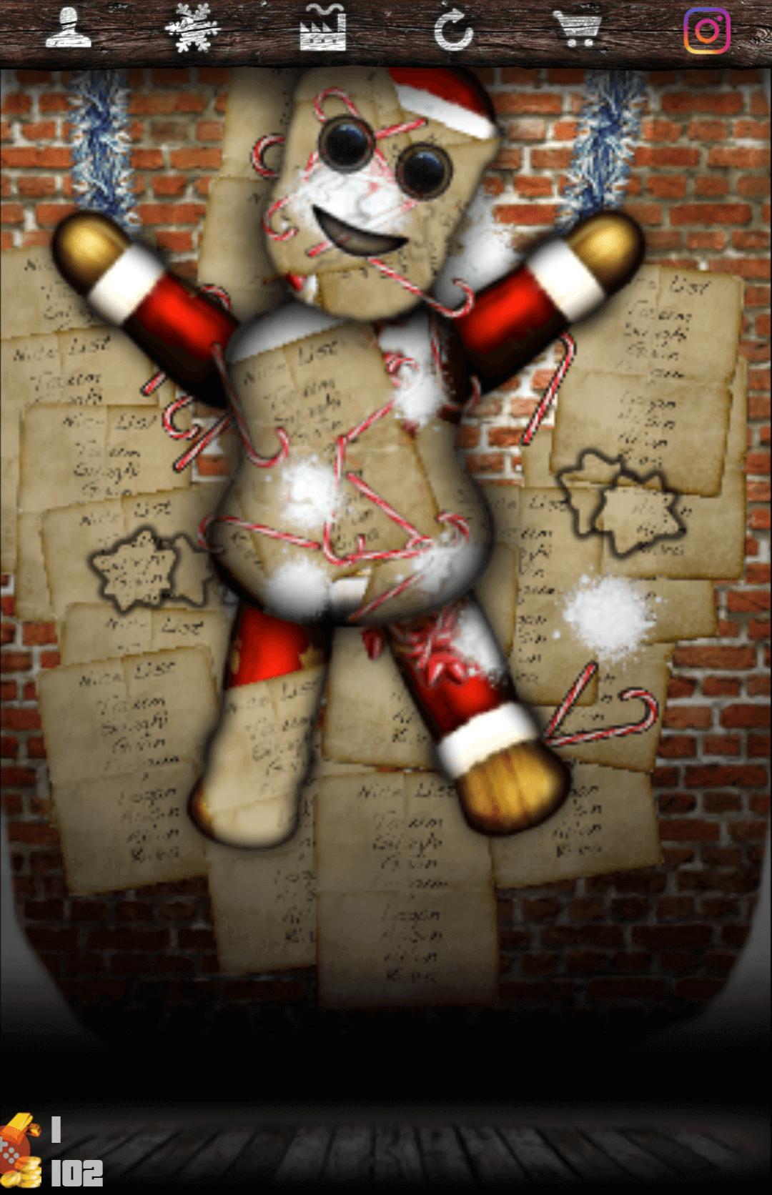 a santa game