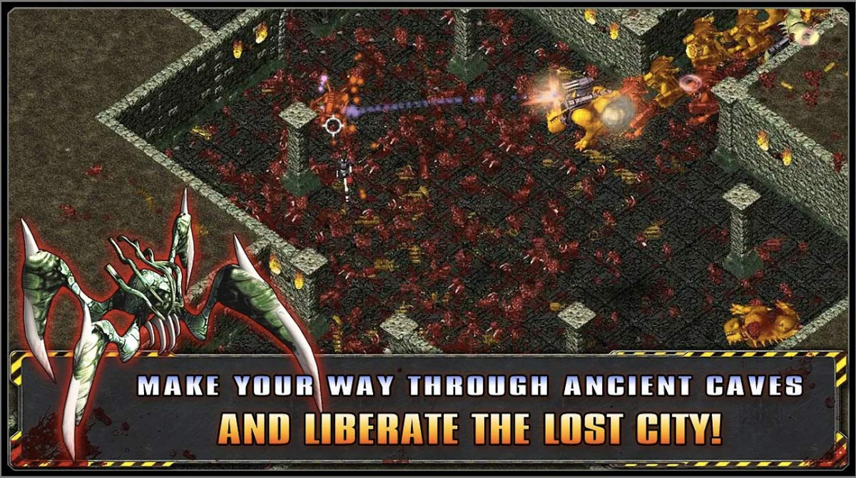alien shooter liberate lost city