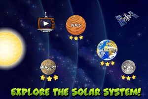angry birds space solar systems