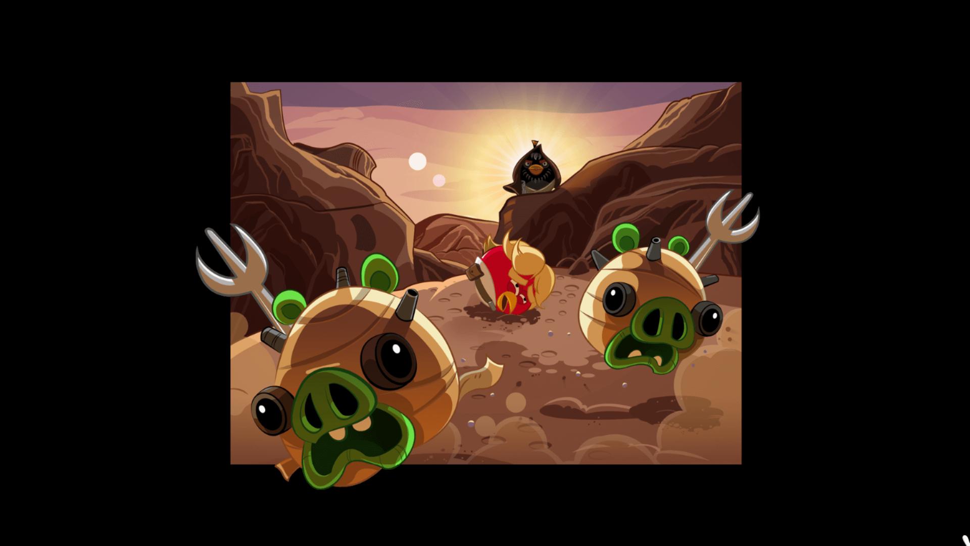 Angry Birds Cartoon comics