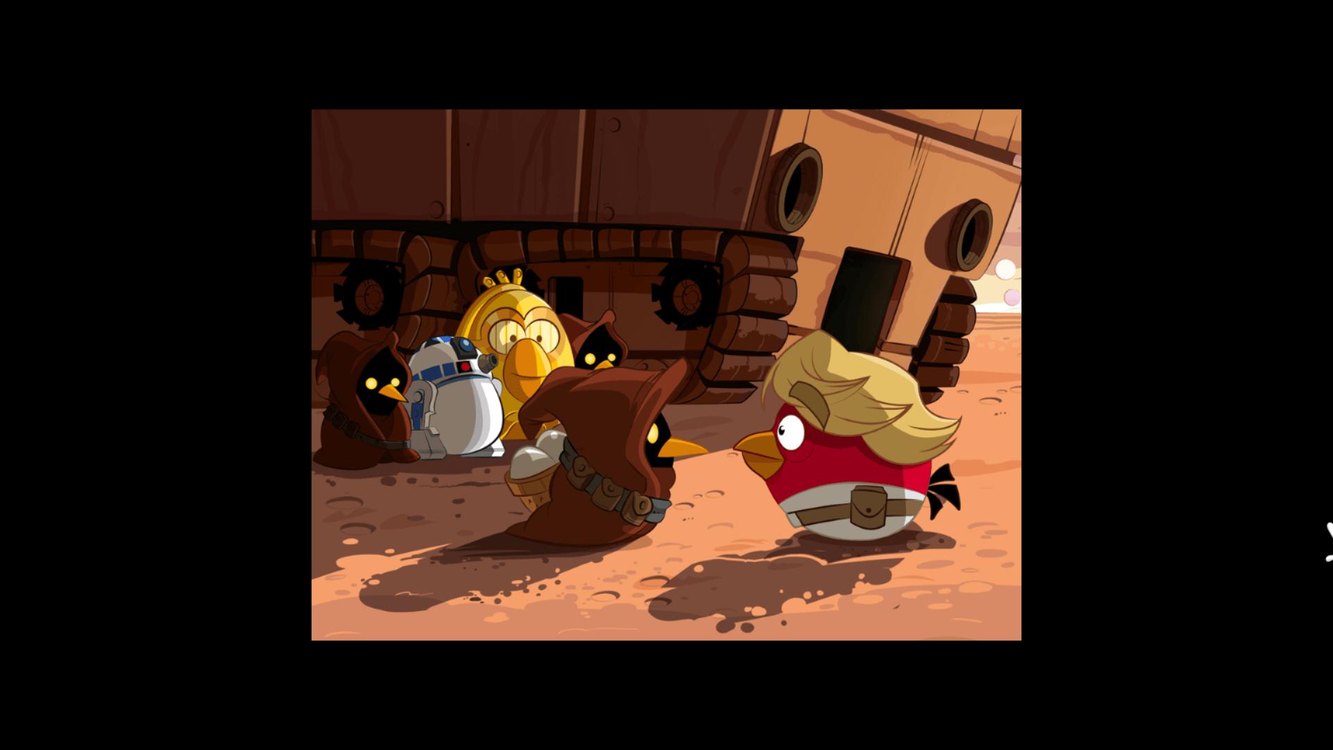 Angry Birds cartoon storyline