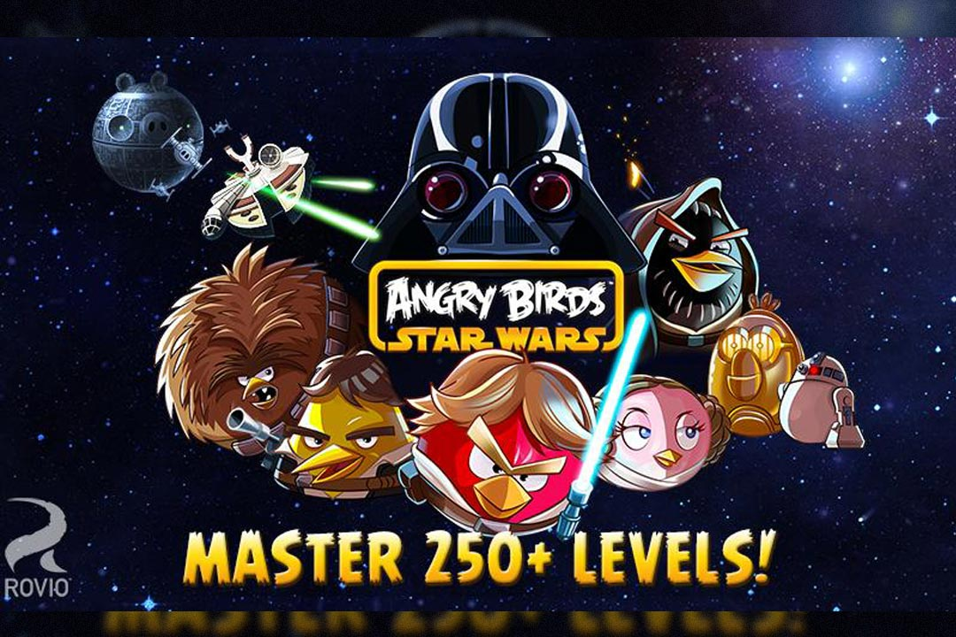 angry birds starwars 250 levels