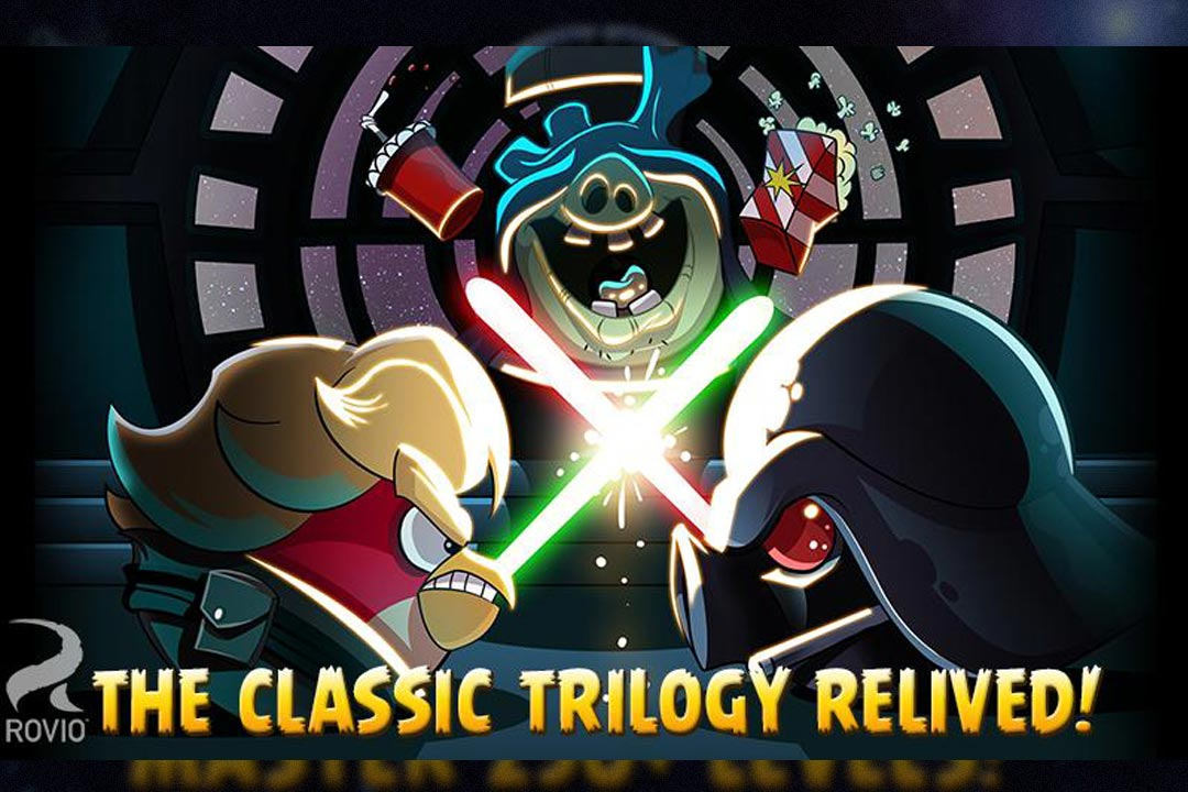 angry birds starwars classic trilogy