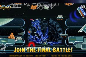 angry birds starwars final battle