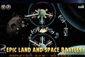 angry birds starwars space battles