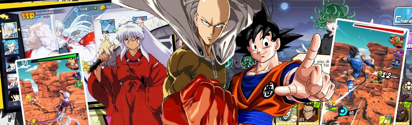 Anime Games Saitama Goku Inuyasha