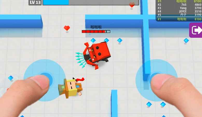 Arrow Io Tap Attack