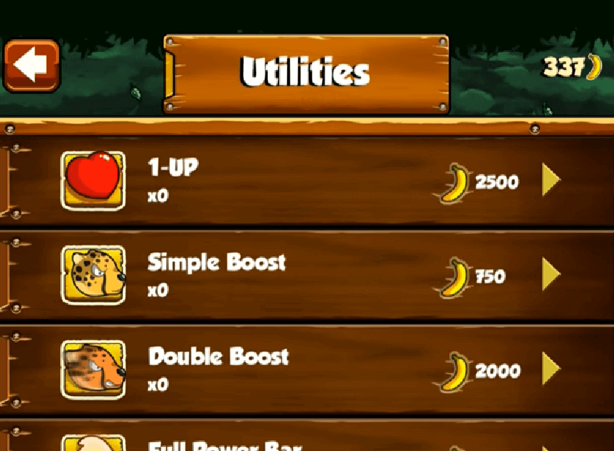 banana kong utilities