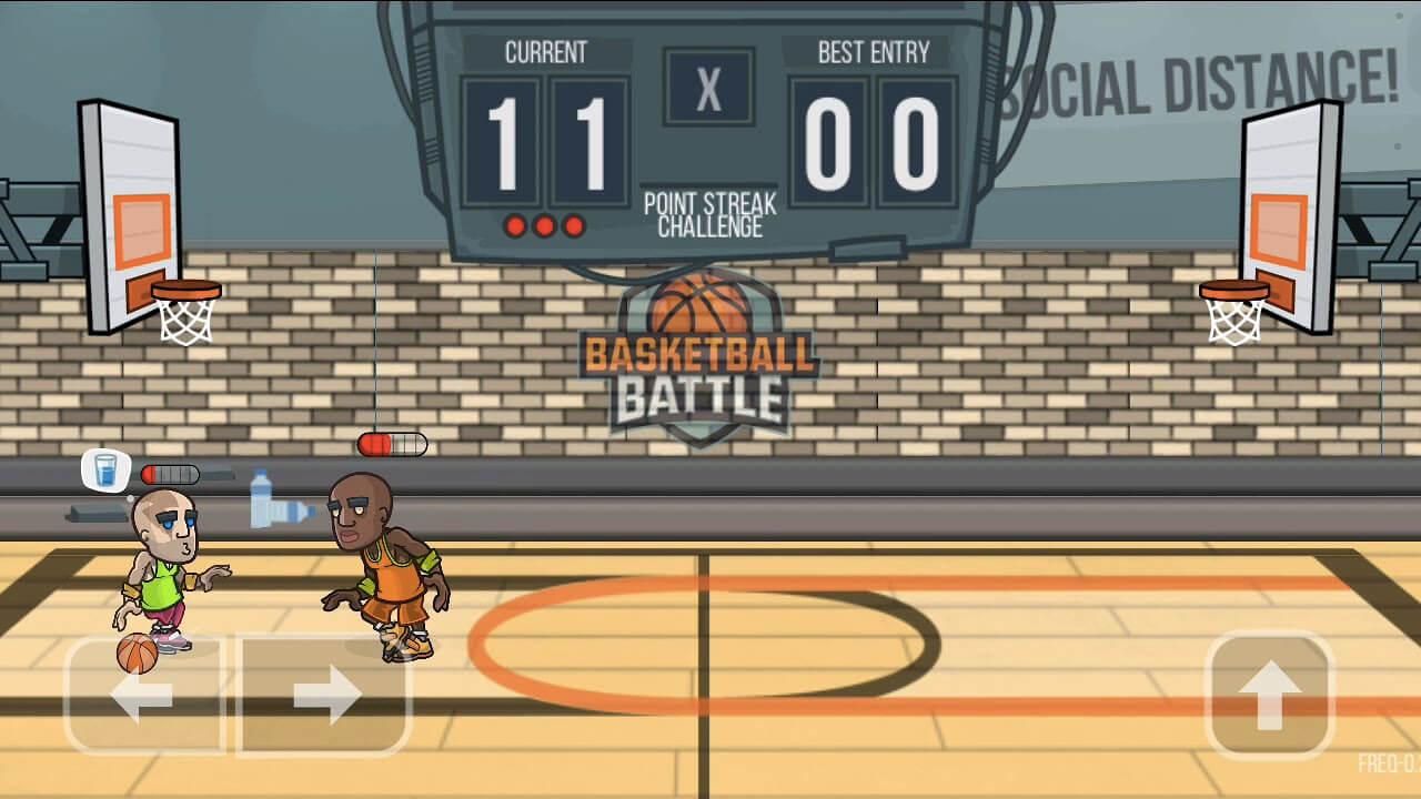Basketball Battle 1 vs 1