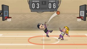 Basketball Battle 3 Points
