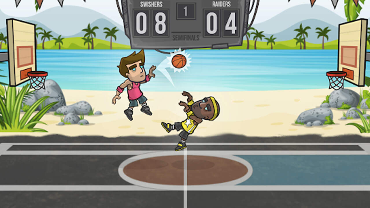 Basketball Battle Block