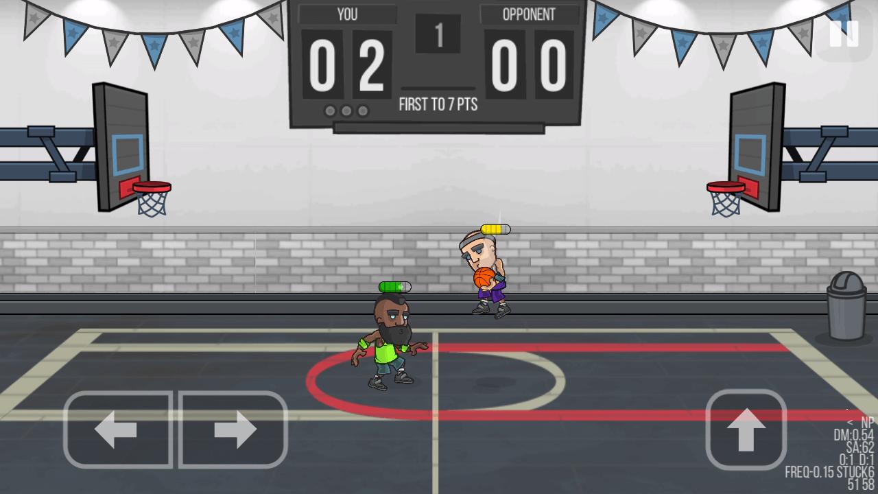 basketball battle versus