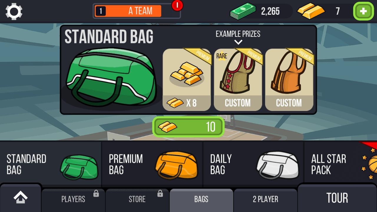 basketball battle bags