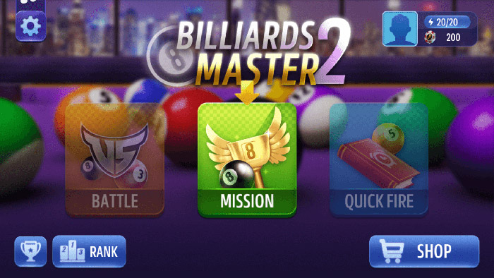 Billiards Master Mission