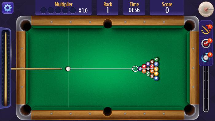 Billiards First Shot