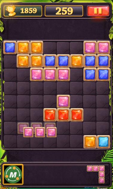 Block Puzzle Beautiful Jewels