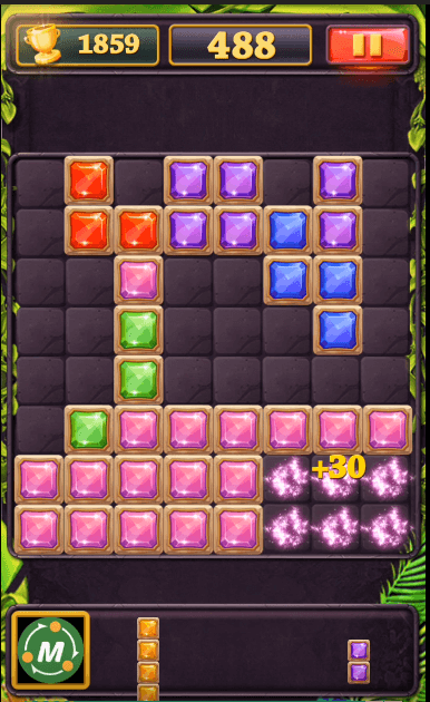 Block Puzzle Jewel Clear Lines At Once