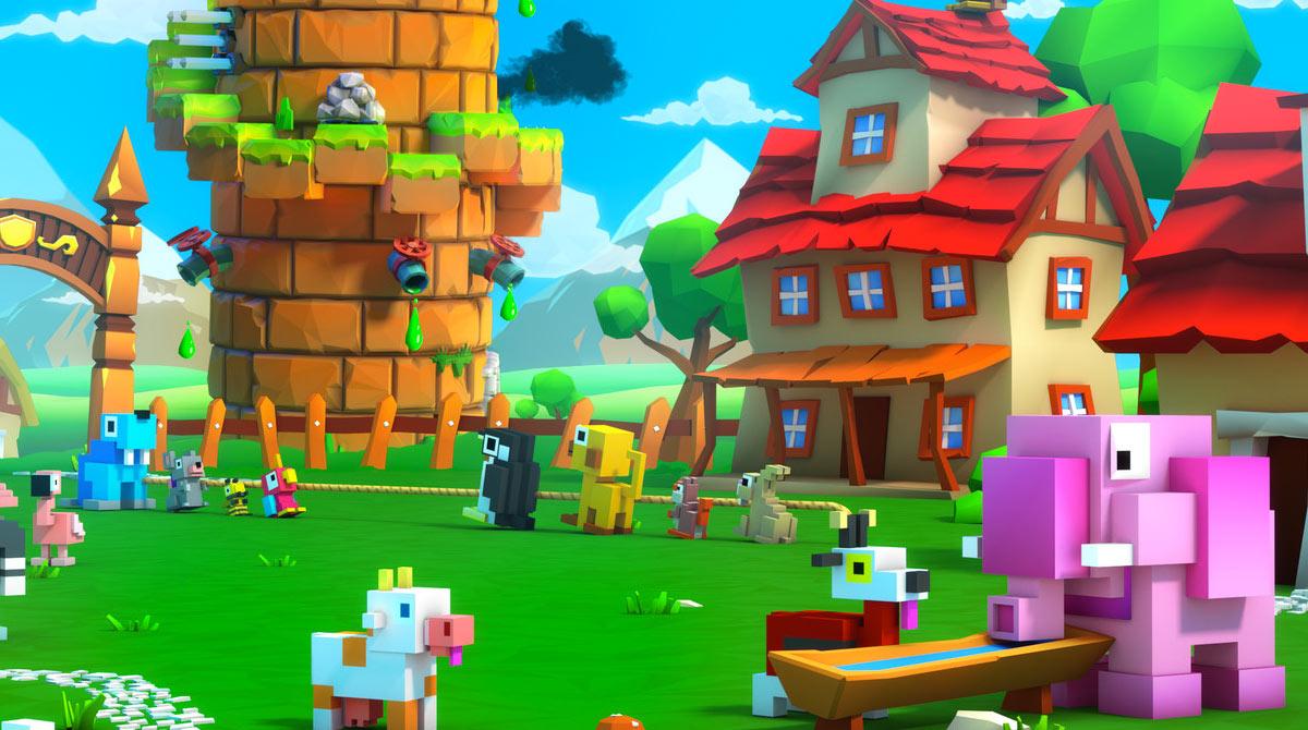 blocky castle download PC free