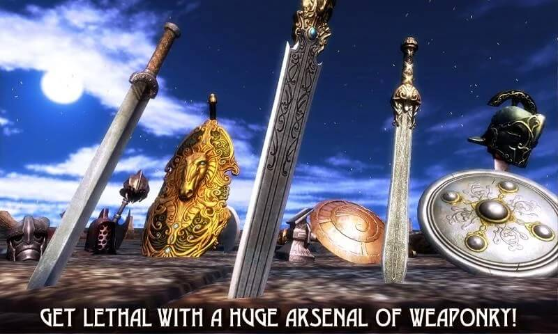 blood and glory sword and shield selectio