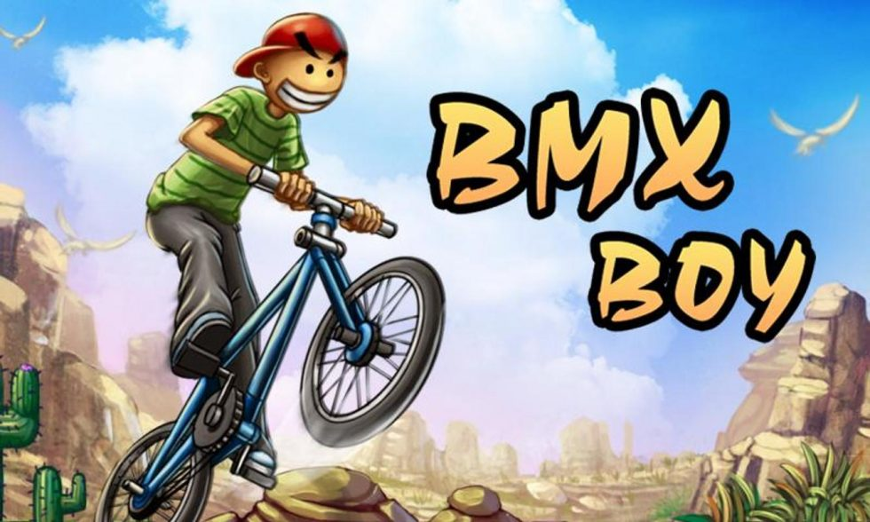 bmx boy desert valley riding