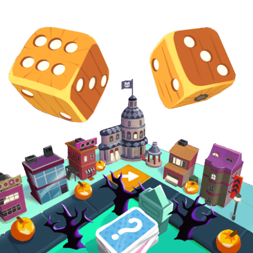 board king two wooden dice drops to capitol
