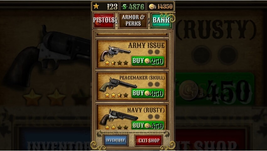 bounty hunt pistols available on market