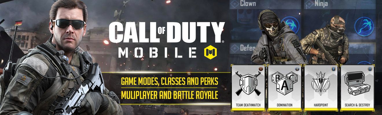 Call of Duty Mobile Classes Modes