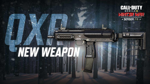 call of duty mobile new weapon qxr