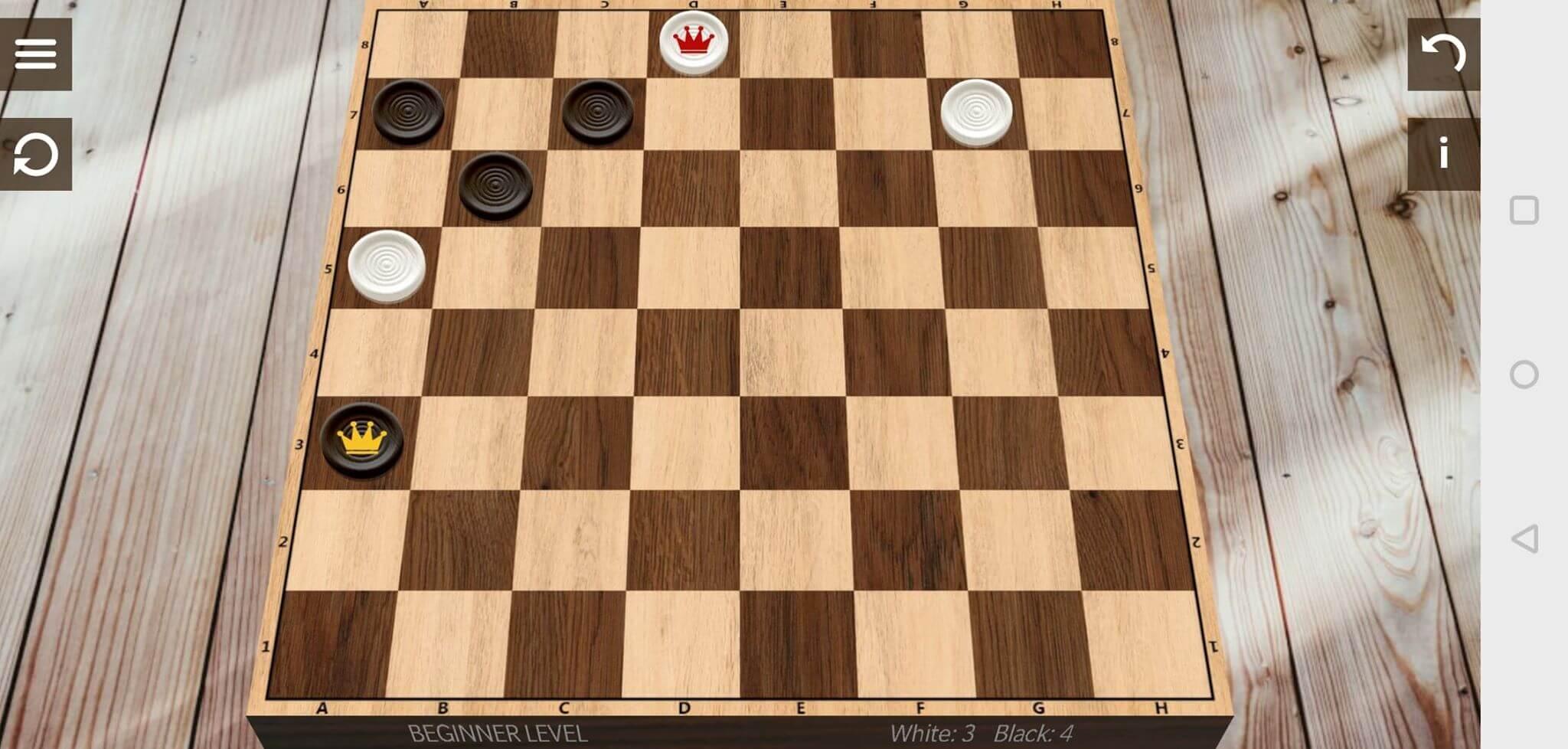 checkers black combo