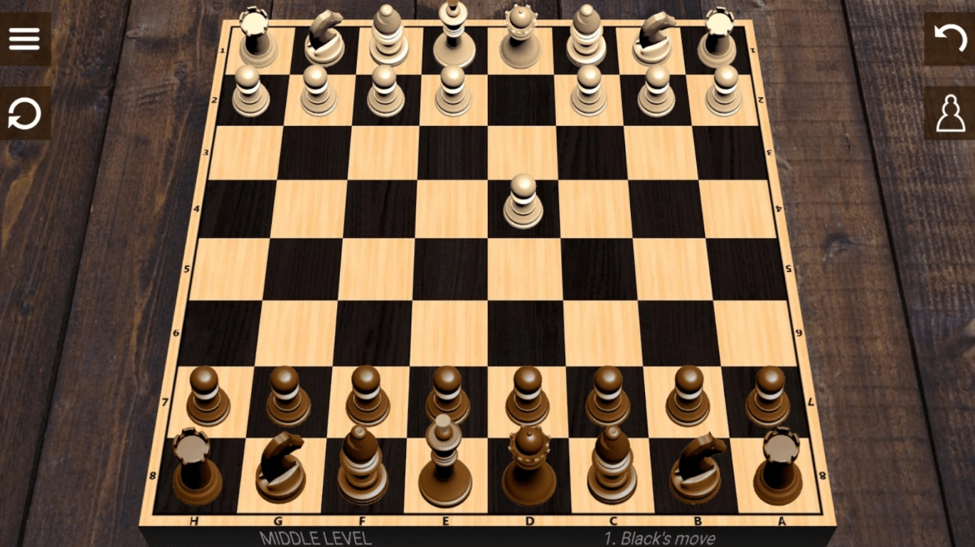 chess first pawn move