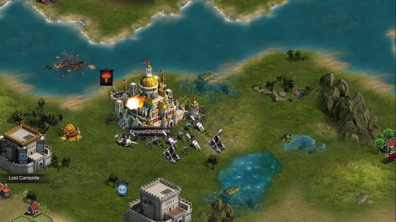 clash of kings castle raid