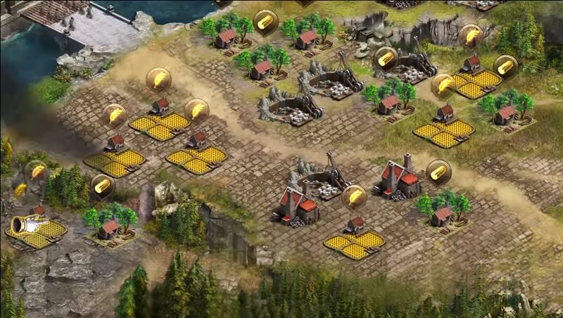 clash of kings mining coins