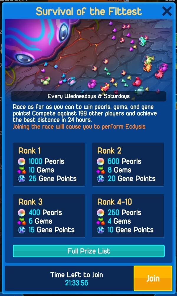 Crab War Tournament Details and Prize List