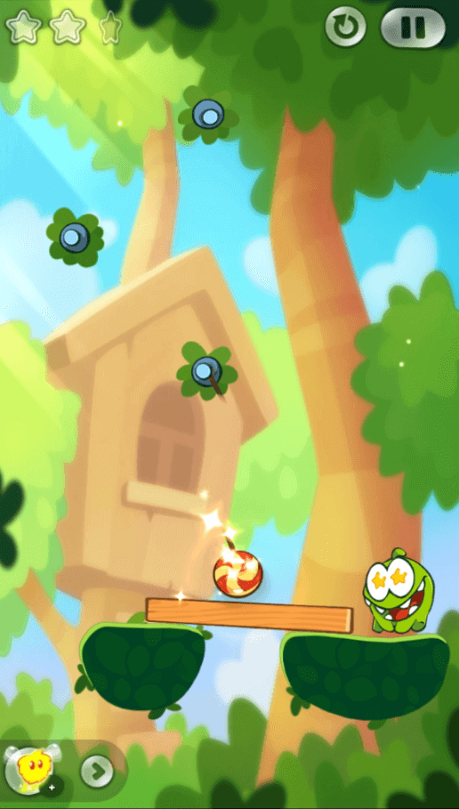 cut the rope 2 candy ball