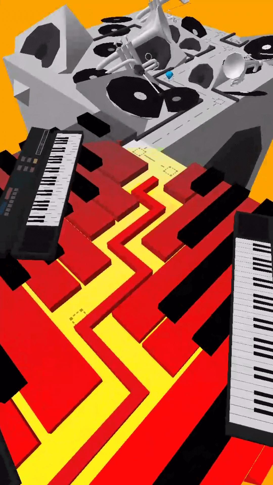 dancing line piano song