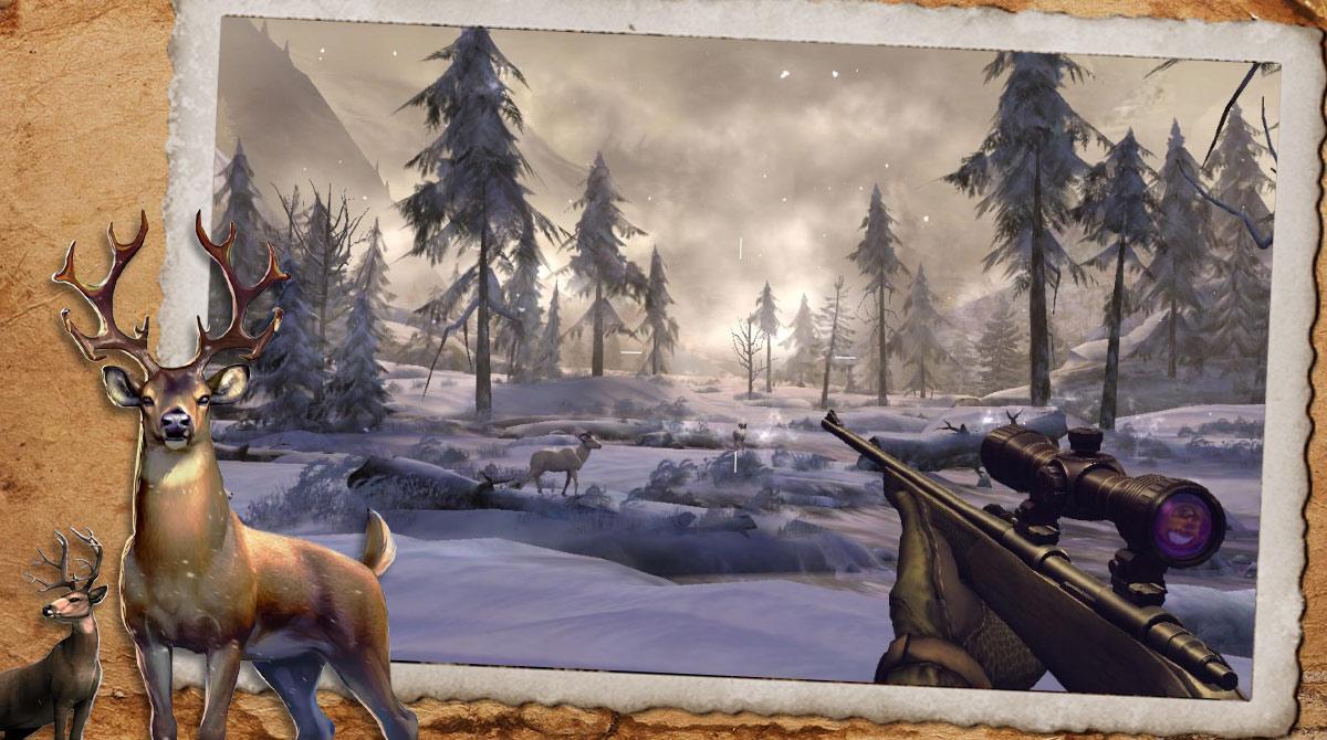 deer hunter 2018 winter
