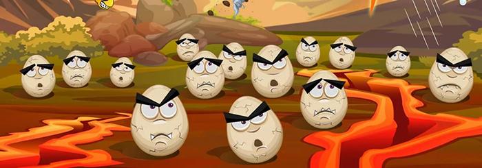 DisasterwillStrike angry group of eggs