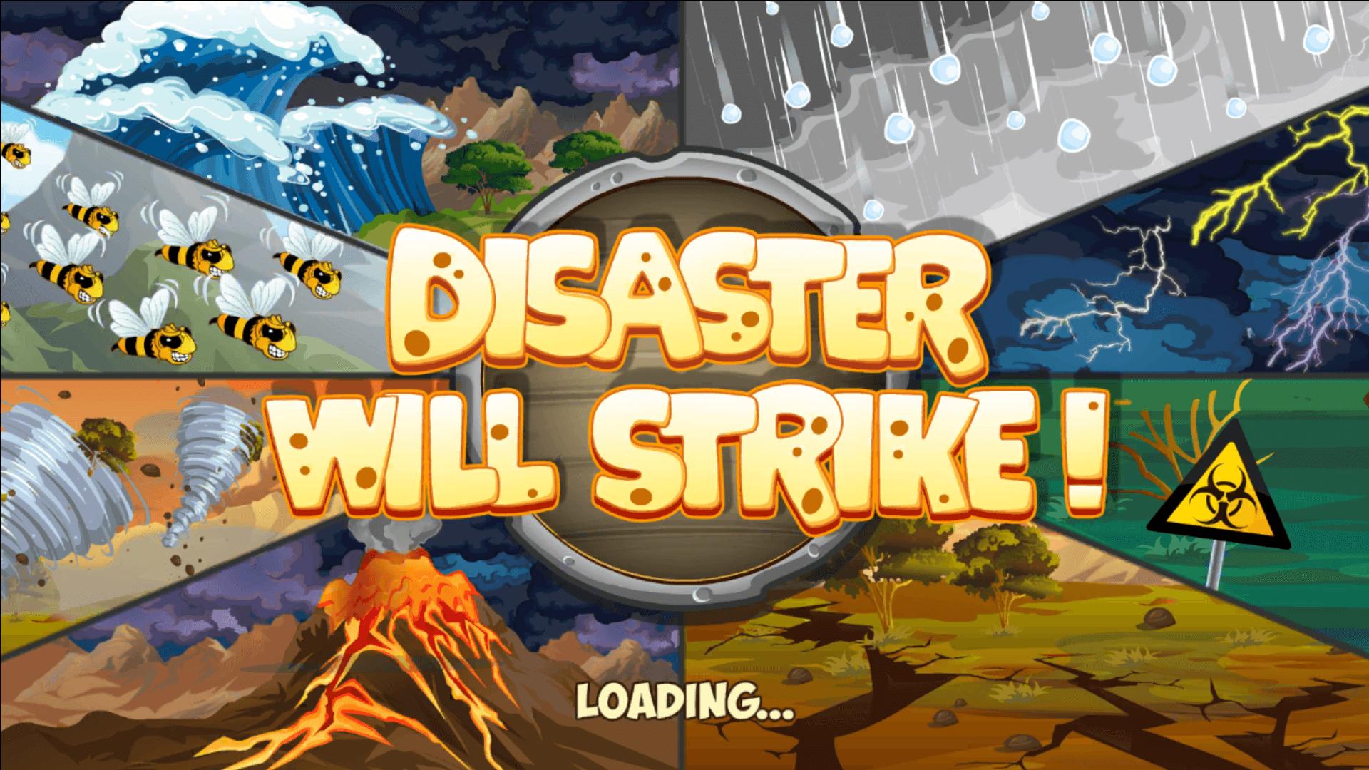 DisasterwillStrike different calamitys
