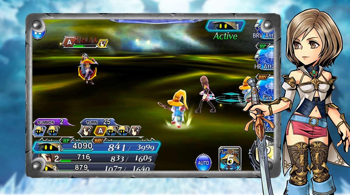 dissidia final fantasy yuna