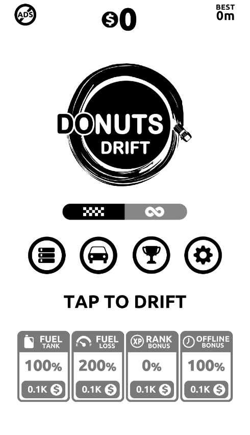 Donuts Drift Racing game lovers