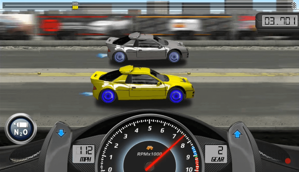 drag racing boost
