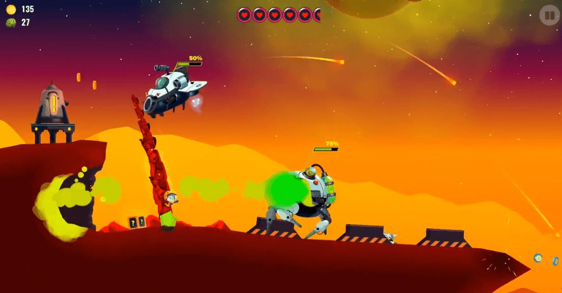 Dragon Hills 2 intergalactic fight