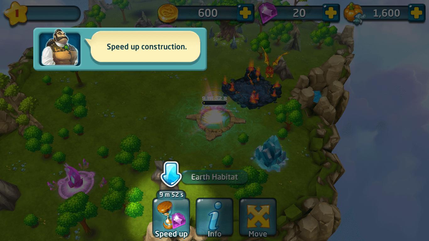 dragons world village creation